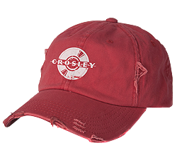 Spinning Record Hat (Red)